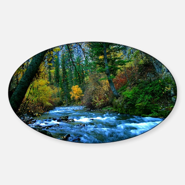 logan canyon river Decal