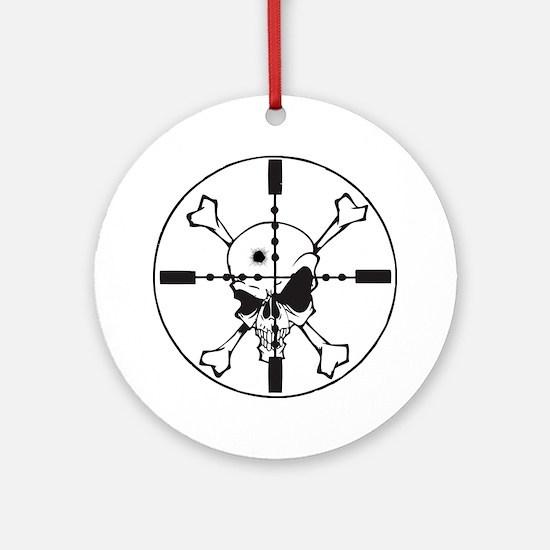 Headshot Round Ornament