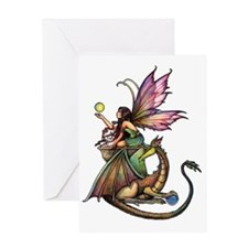 Dragons Orbs transparent background  Greeting Card