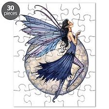 Midnight Blue transparent background zazzle Puzzle