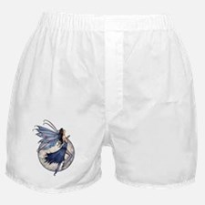Midnight Blue transparent background  Boxer Shorts