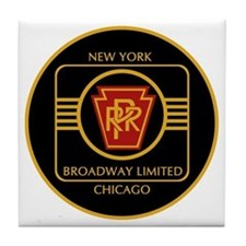 Pennsylvania Railroad, Broadway limit Tile Coaster