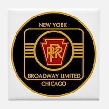 Pennsylvania Railroad, Broadway limit Tile Coaster