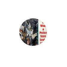 policestate Mini Button