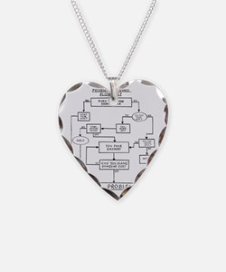 Flow Chart Necklace
