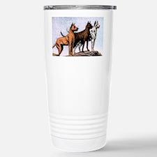 3 great danes shoulder bag copy Travel Mug