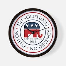 Republicant2 Wall Clock