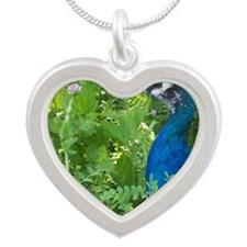 4135-tile Silver Heart Necklace