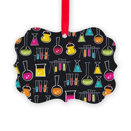 science_lab_toiletry Picture Ornament