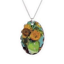 Journal VG 3 Sunflowers Necklace