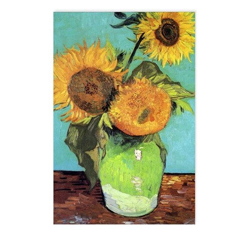 Journal VG 3 Sunflowers Postcards (Package of 8)