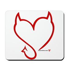 Teez Wild Heart Logo1 Mousepad