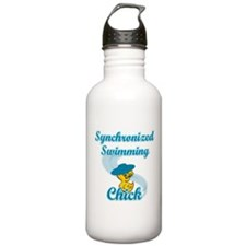 Synchronized Swimming Chick #3 Water Bottle