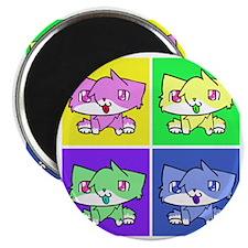 kira cat Magnet