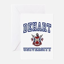 DEHART University Greeting Cards (Pk of 10)