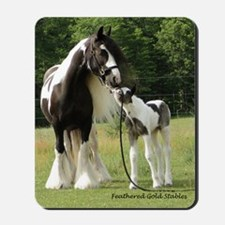 Dated with foal final Mousepad