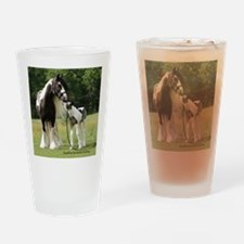 Dated with foal final Drinking Glass