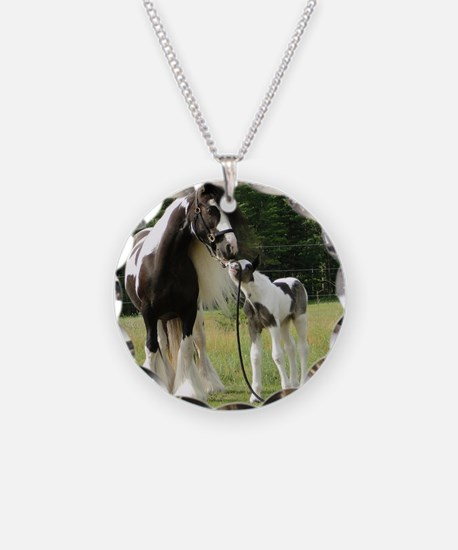 Dated with foal final Necklace