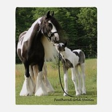Dated with foal final Throw Blanket