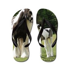 Dated with foal final Flip Flops