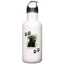 blanket-wildeshots-lab Water Bottle