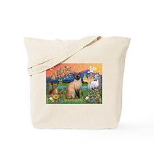 Siamese (1) in Fantasy Land Tote Bag