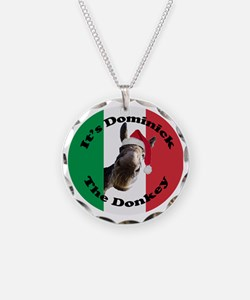 Its Dominick! (round) Necklace