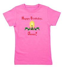 HappyBJesus2 Girl's Tee