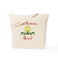 HappyBJesus2 Tote Bag