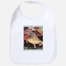 1970 France Degas Dancer Painting Postage Stamp Bi