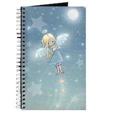 little star angel card Journal