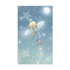 little star angel card Decal