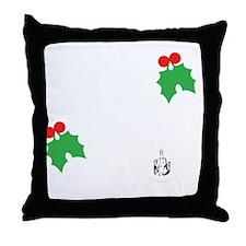 ho-ho-dark Throw Pillow