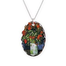 K/N VG Red Poppies Necklace