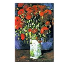 K/N VG Red Poppies Postcards (Package of 8)