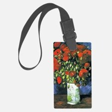 K/N VG Red Poppies Luggage Tag