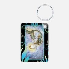 deep sea moon journal Keychains