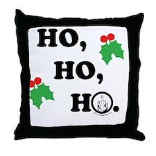 ho-ho-light Throw Pillow