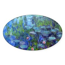 Laptop Monet WLilies Decal