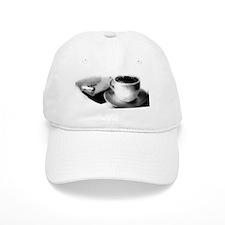 coffee and cigarette Baseball Cap