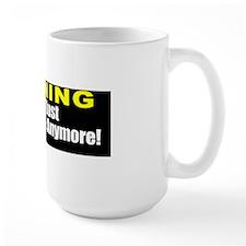 Warning Driver Doesnt Care Ceramic Mugs