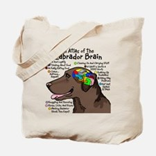 choclabbrain1a Tote Bag