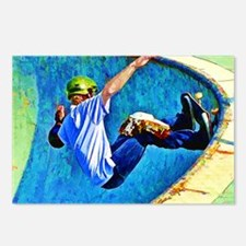 Skateboarding in the Bowl Postcards (Package of 8)