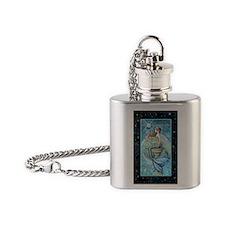 jade moon journal Flask Necklace