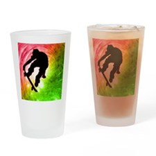 Skateboarder in a Psychedelic Cyclo Drinking Glass