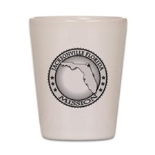 Jacksonville Florida LDS Mission Shot Glass