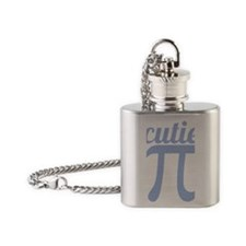 Cutie Pi Flask Necklace