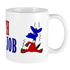 Take-a-Bath-Get-a-Job-Bumper-Sticker Mug