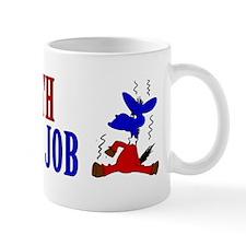 Take-a-Bath-Get-a-Job-Bumper-Sticker Small Mug