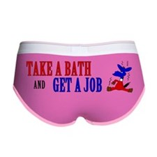 Take-a-Bath-Get-a-Job-Bumper-Sti Women's Boy Brief